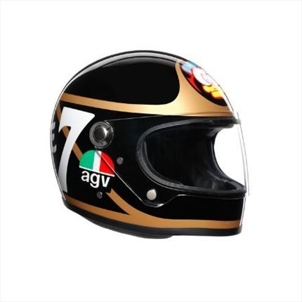 Casco AGV X3000 Barry Sheene (Edición Limitada) | motónity