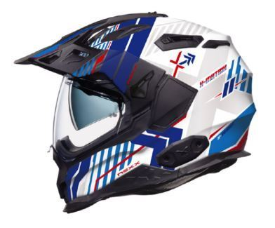 Casco Nexx XWED 2 Wild Country Blanco/Azul - motonity