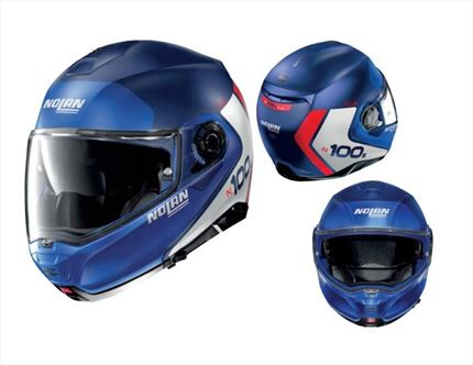 Casco NOLAN N100.5 PLUS Distinctive Azul | MOTONITY