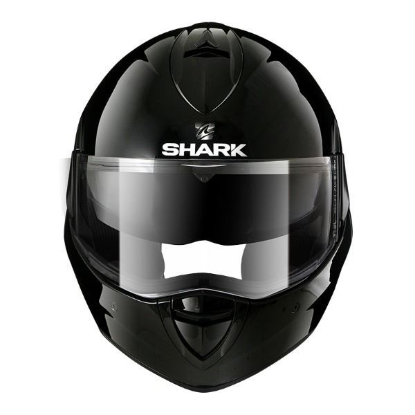Casco SHARK Evoline Series 3 Blank Negro (2)