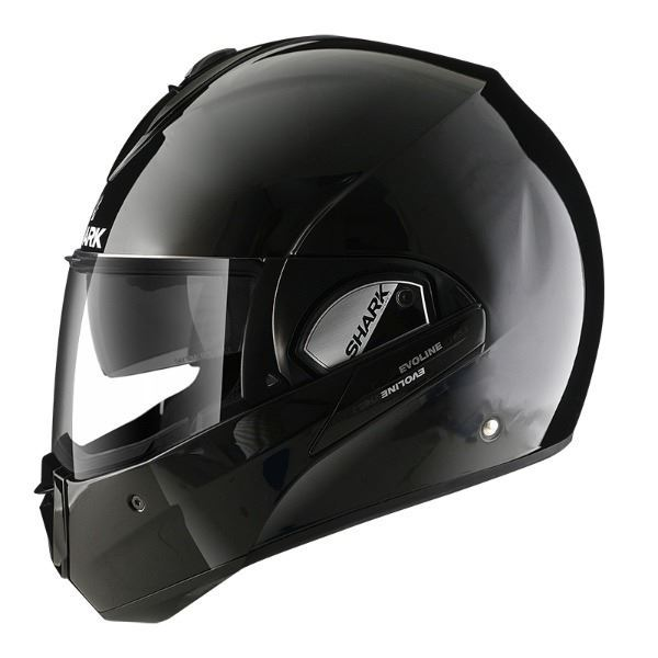 Casco SHARK Evoline Series 3 Blank Negro (3)