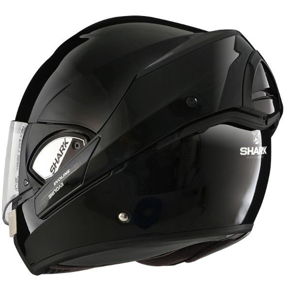Casco SHARK Evoline Series 3 Blank Negro (4)