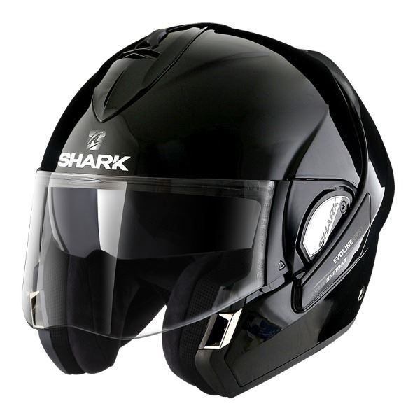 Casco SHARK Evoline Series 3 Blank Negro