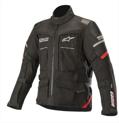 Chaqueta Alpinestars Andes Pro Drystar Tech Air compatible Negro - motónity