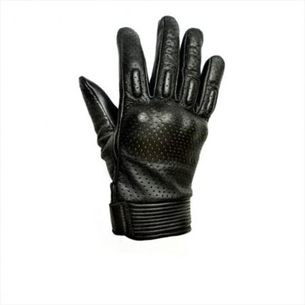 Guantes Helstons Side Lady Negro/Blanco | motónity