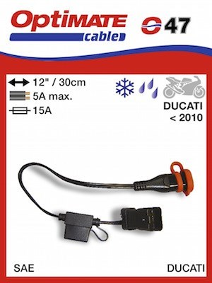 Optimate adaptador para conector Ducati-motonity